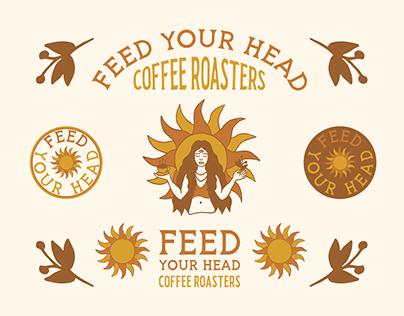 Feed Your Head Coffee Branding