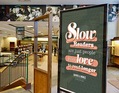 Barnes&Noble Ad Campaign