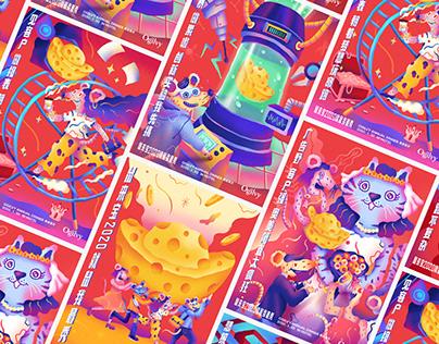 Ogilvy CNY Posters