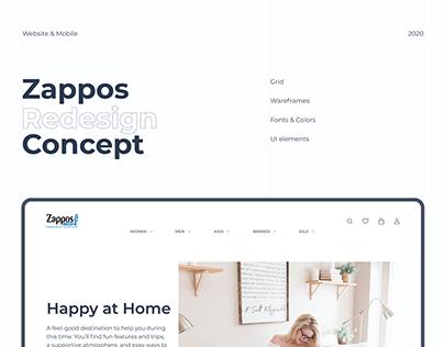 Zappos Redesign Concept