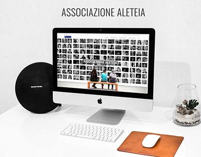 Sito Web per Associazione Aleteia