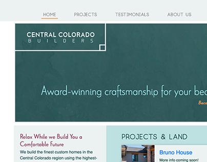 Central Colorado Builders Marketing Site