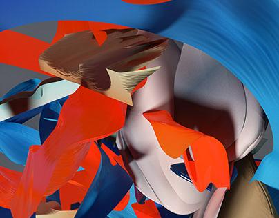 Generative Abstract Digital Paintings