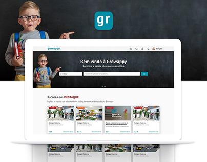 Growappy — Website
