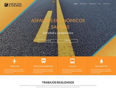 WEB ASFALTOS E.SALINAS