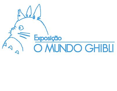 Catálogo para a exposição - O Mundo Ghibli