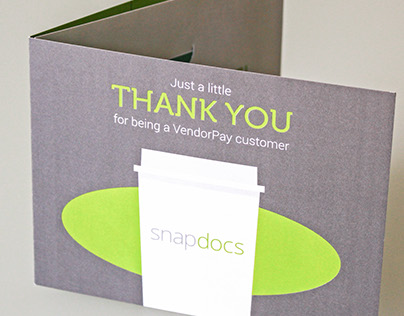 SnapDocs Thank You/Gift Card Tri-Fold