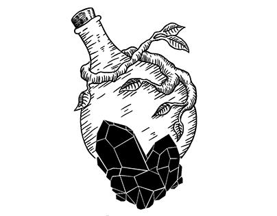 Fábrica de bruxarias - ilustração