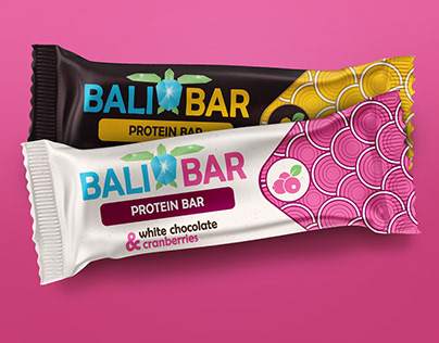 Protein Bar Package Design Concept