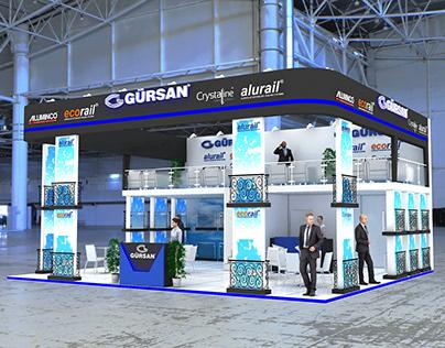 Exhibition Stand // Gürsan Alüminyum