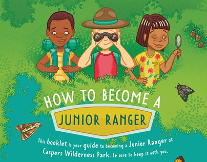 How to become a Junior ranger