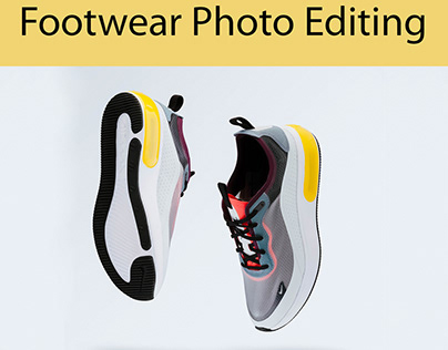 Footwear Photo Editing & Retouching Service