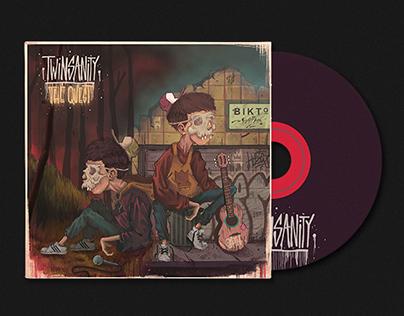 Twinsanity cover record design