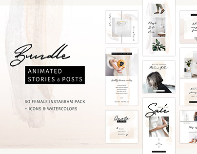 Save 60% with this Bundle: Animated Posts & Stories