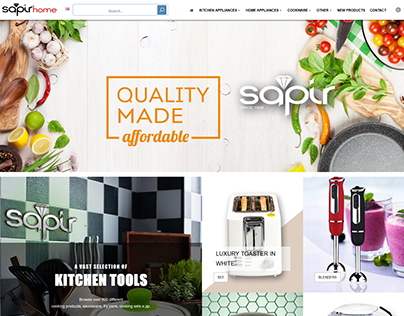SapirHome project - Product Catalog website