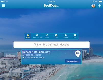 Rediseño App BestDay.com (Android, iPhone, iPad)