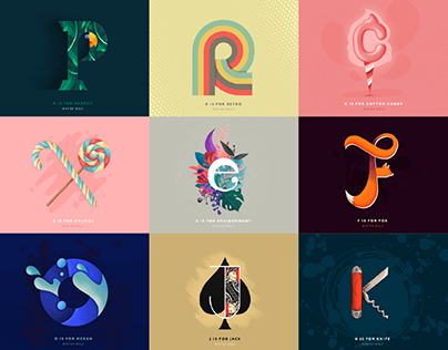 36 Days of Type (A-Z) 2019