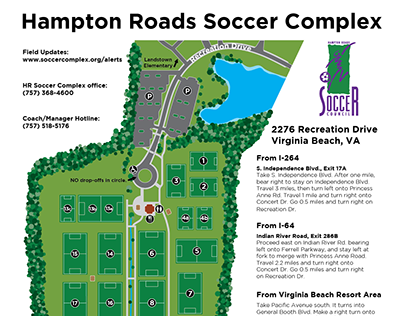 Soccer Complex Maps