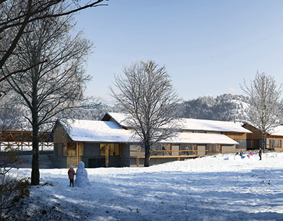 School in Cabanesse   Apache Architects