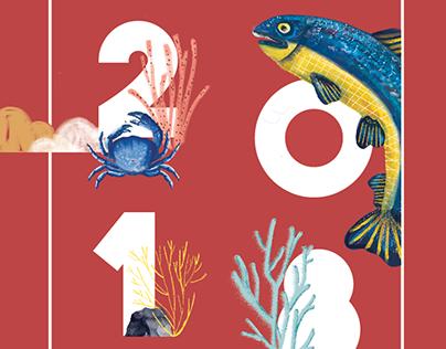 2018 Illustrated Calendar