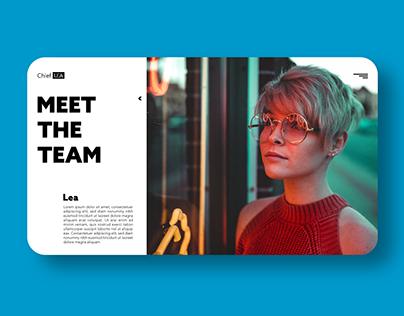Meet the Team - Concept