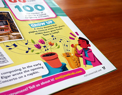 Spot Illustrations for Children's Publication