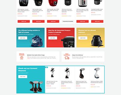 warehouse shopify website
