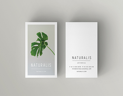 NATURALIS Business Card