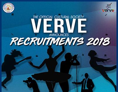 VERVE recruitments 2018