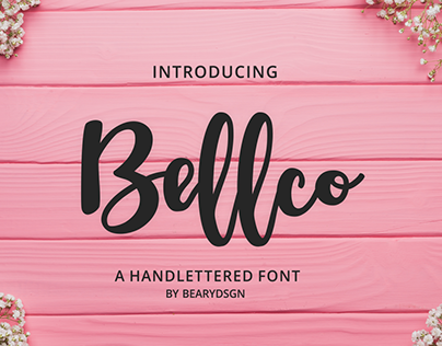Bellco fonts