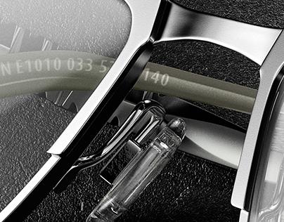 CGI of Flexon Glasses