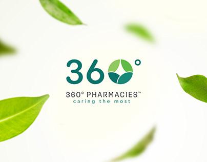 360° Pharmacies Branding