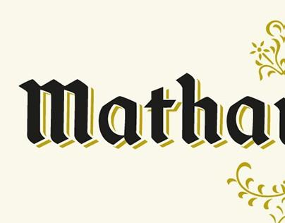 BRANING CONCEPT: MATHANTVERK