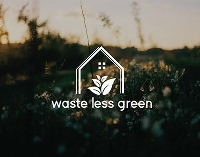 Waste Less Green Logo