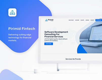 Pirimid Fintech - Website Design & Development
