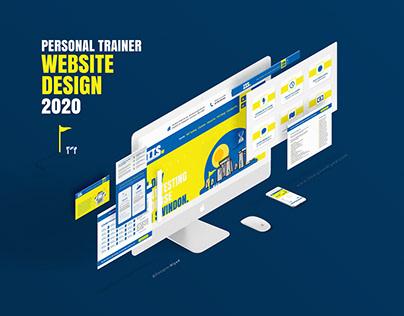 PERSONAL TRAINER WEBSITE DESIGN 2020 Swindon