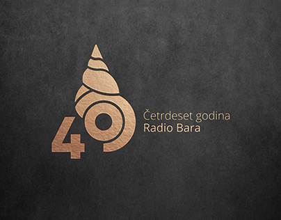 Radio Bar 40th anniversary / visual identity
