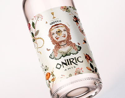 Label design - Oniric Anis