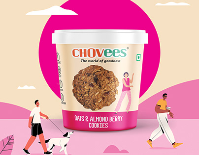Cookies Packaging Design