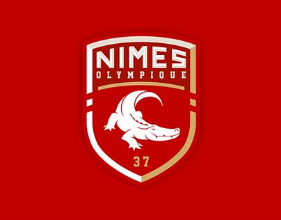 Nîmes Olympique - Rebranding
