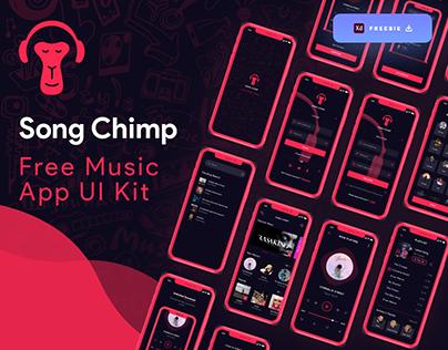 Song Chimp Music App - (Freebie)