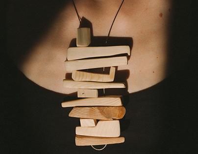 Bones Necklace by Naomi Turco