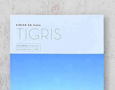 Tigris Magazine Redesign
