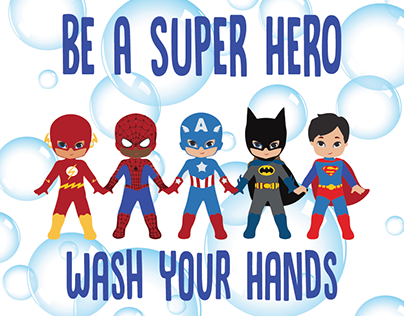 Kids wash your hands!