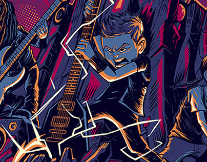 "METALLICA Stuttgart Night 2 ""METALLIKIDS"" Poster"