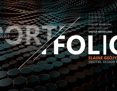 Digital Design Final Year Portfolio- Elaine Geojy