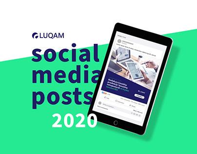 Social media post for Luqam