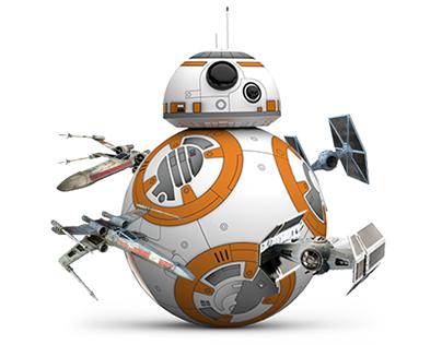 BB-8 Landing Page