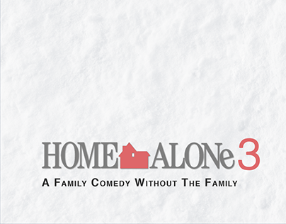 Minimal Poster -- Home Alone 3