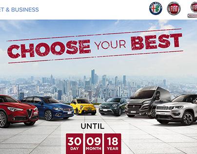 CHOOSE YOUR BEST - FCA FLEET & BUSINESS